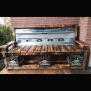 Ford Tailgate Bench Holzbank Ladeflächenklappe Pickup